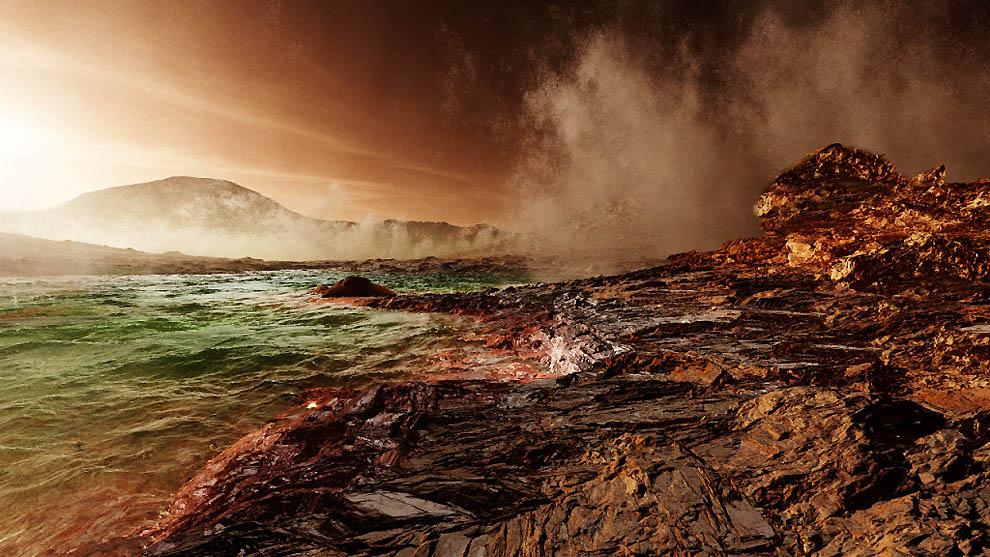 Красота современного и древнего Марса